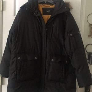 Down 3/4 length jacket